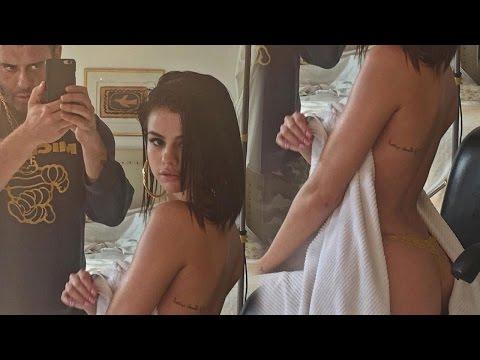 Selena Gomez Enciende Instagram SEMI Desnuda