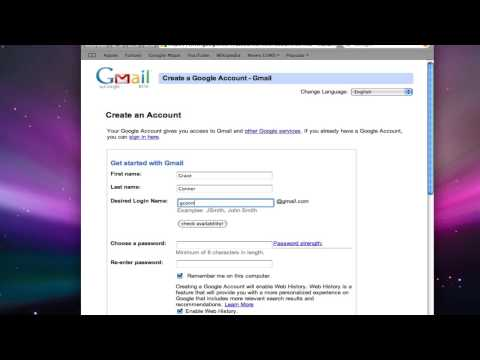 Google Mail #1: How to Create a Gmail Account
