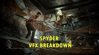 spyder movie vfx breakdown