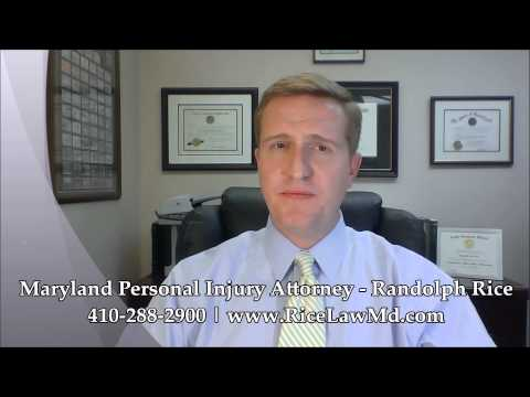 Maryland Personal Injury Attorney   Randolph Rice   Call 410-288-2900