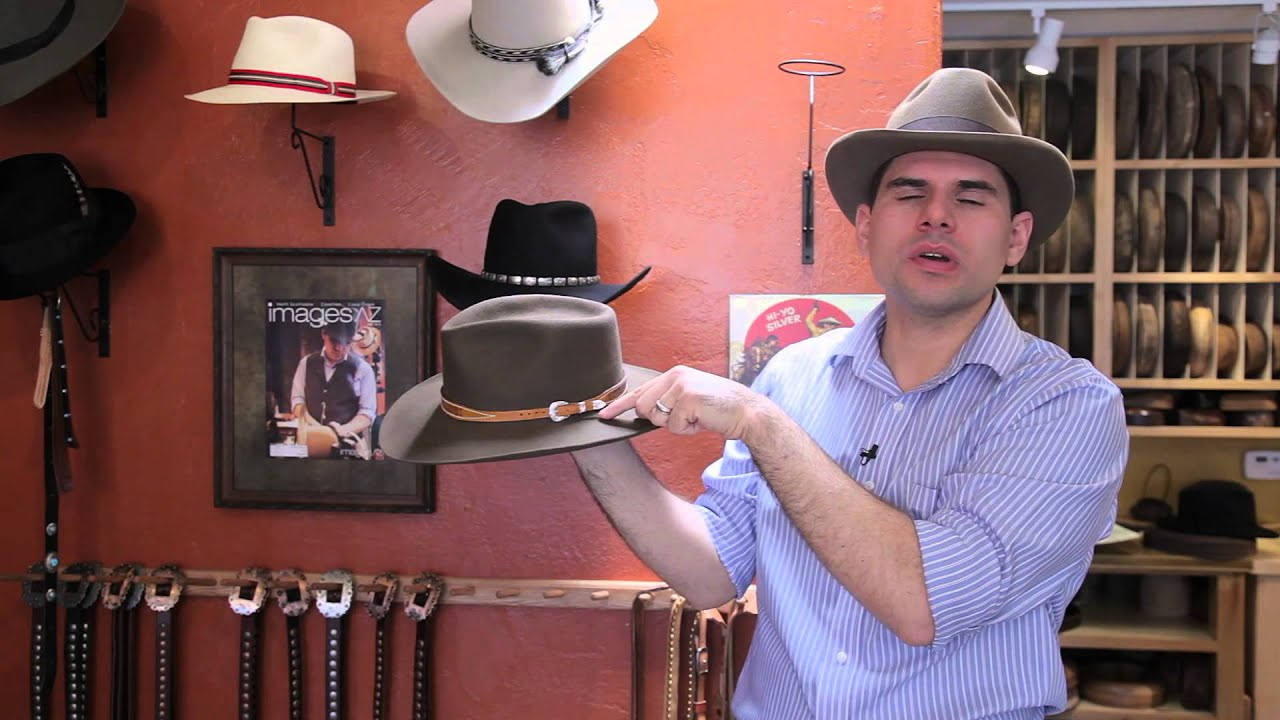 81f4b650d04 How to Tighten the Hat Band on a Stetson Hat   How to Tighten the Hat Band  on a Stetson Hat