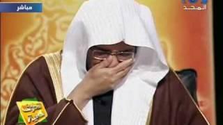 لماذا بكى المفسر الشيخ صالح المغامسي