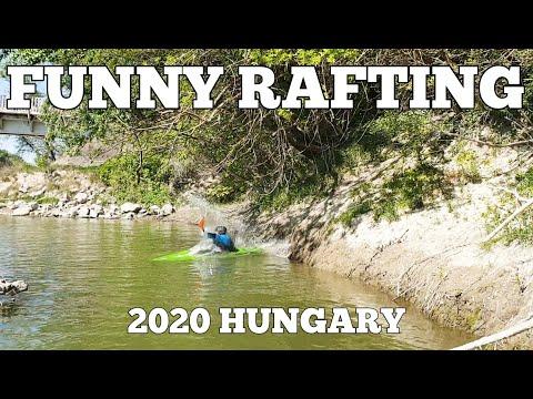 FUNNY RAFTING AND KAYAKING IN RACALMAS HUNGARY 2020