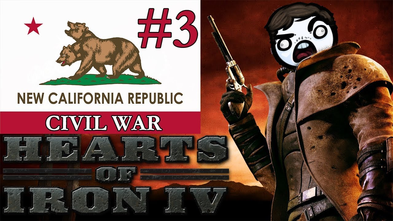 HOI4 Old World Blues - NCR #3 - Civil War! [FINALE]