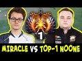 MIRACLE vs TOP-1 Rank NOONE — mid Phantom Assassin vs Monkey King