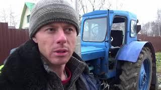 Обновки для трактора Т 40