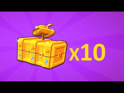 Smash 10 EPIC CHEST Box In Hills Of Steel