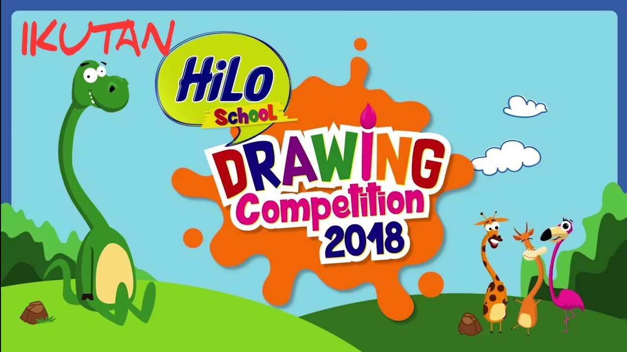 Hilo School Drawing Competition 2018 Final Semarang Youtube