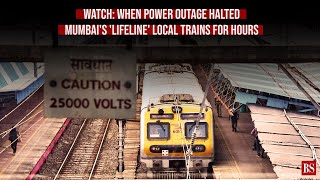 Watch: When power outage halted Mumbai's 'lifeline' local trains for hours