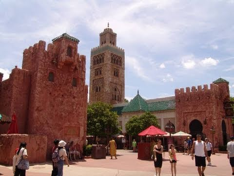 Morocco Pavilion - Epcot World Showcase 2011 HD Tour/ Overview POV