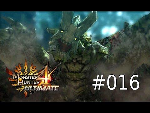 Monster Hunter 4 Ultimate Walkthrough #016 - Basarios, der steinerne Drache