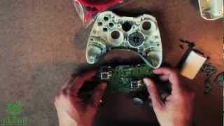 How To Mod An Xbox 360 Controller: Custom Thumbsticks, D-pad, Bumpers, Triggers, Mic Trim