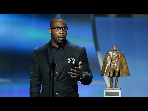 Anquan Boldin Wins Walter Payton Man of the Year Award | 2016 NFL Honors