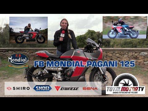 FB Mondial Pagani 125 | Prueba / Test / Review en español | Total Motor TV