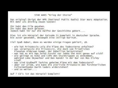 Ö001 - Star Wars - Krieg der Sterne - national public radio drama - Deutsch - Fanhörspiel - CD 6