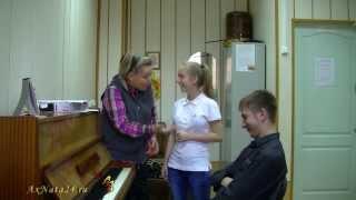 """Урок вокала. Моя подружка-гортань( ч.3-я)  Работа над песней """"Осенний блюз"""". Эмоции!!!"""