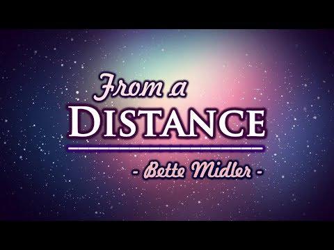 From A Distance - Bette Midler (KARAOKE VERSION)