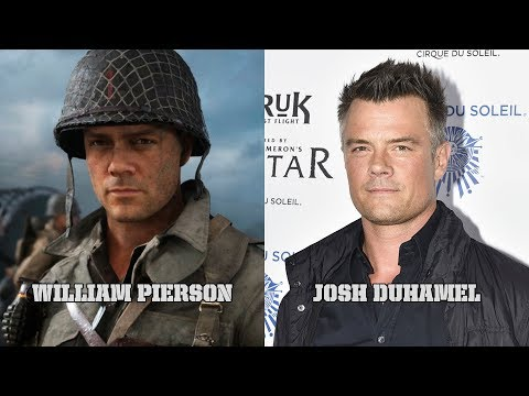 Call of Duty: WWII - Characters and Voice Actors