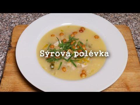 Kuřecí sýrová polévka