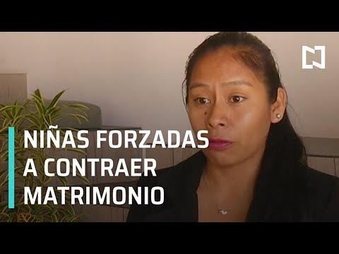 Niñas en Guerrero, Hidalgo, Chiapas y Oaxaca son forzadas a contraer matrimonio