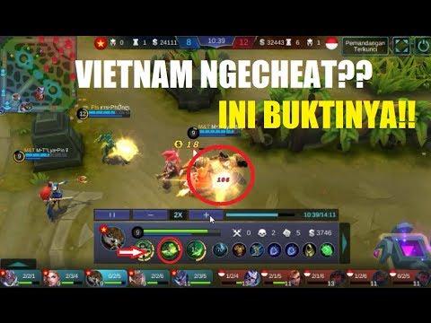 Bukti Kecurangan VIETNAM vs INDONESIA di ARENA KONTES!! - Mobile Legends