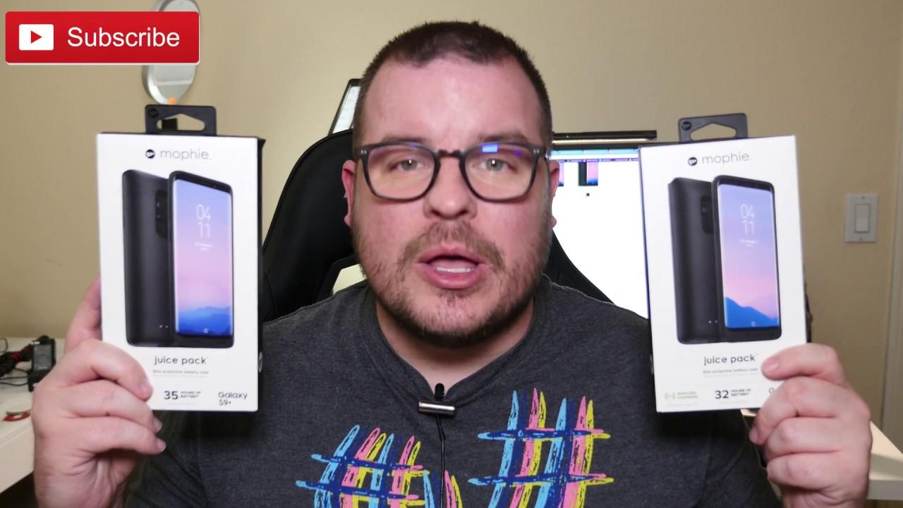 buy popular e119f d855d Mophie Battery Case Galaxy S9 Plus REVIEW