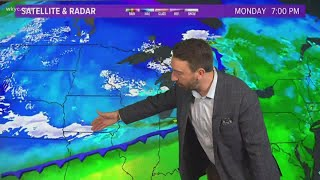 Tracking accumulating snow in Northeast Ohio this week