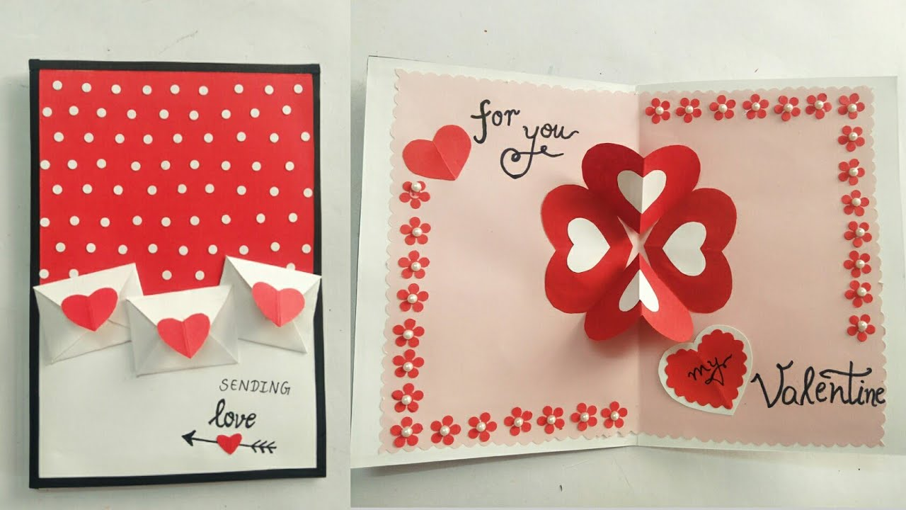 Diy Valentine Pop Up Card Ideas How To Make Simple Ans Easy