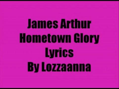 James ArthurHometown Glory Lyrics