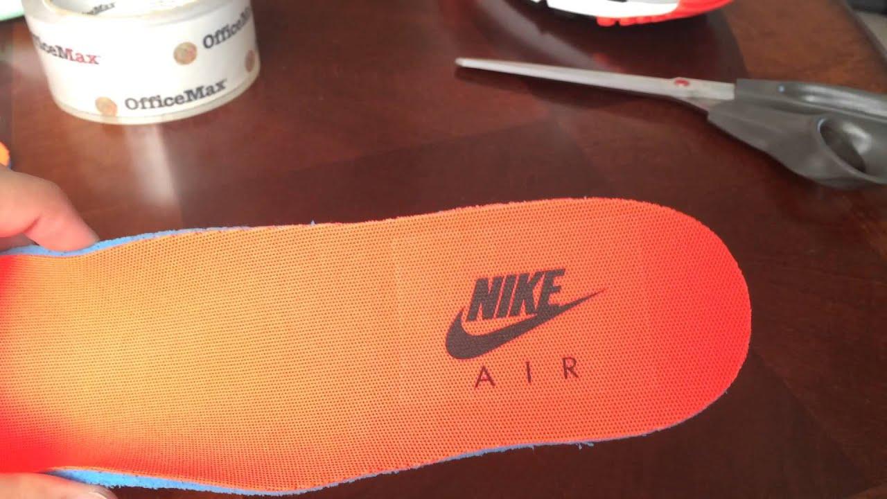 How to preserve Jordan or Nike Air insoles