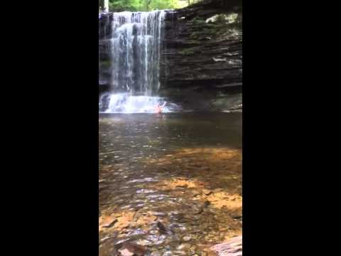 Ricketts Glen State Park Waterfalls * Polar Bear Swim * Bucket List *
