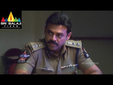 Gharshana Movie Venkatesh Intro Scene   Venkatesh, Asin   Sri Balaji Video