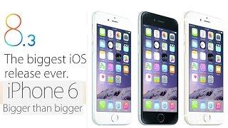 iOS 8.3 Экспресс обзор. Тормозит или нет iOS 8.3 на iPhone 6 ?(, 2015-04-12T12:52:25.000Z)