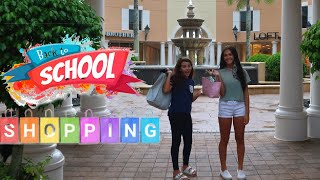 OUR BIGGEST BACK TO SCHOOL MALL SHOPPING TRIP 2020! COME SHOP WITH ME! EMMA AND ELLIE