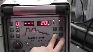 Налаштування Triton Alumig 250P synergic