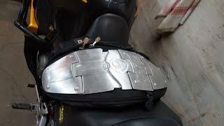 Обзор Рюкзак ASMK / MONSTER Защита Спины