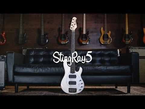 Ernie Ball Music Man StingRay 5 Bass: Joe Dart Demos
