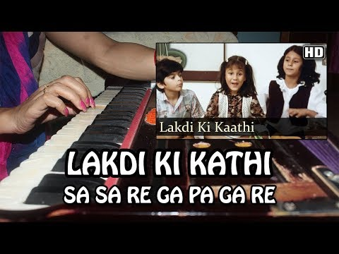 Lakdi Ki Kathi Kathi Pe Ghoda - Harmonium Tutorial & Notation by Rashmi Bhardwaj