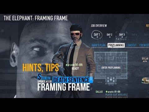 Payday 2: Framing Frame. Death Sentence. Stealth Solo.