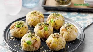 Thermomix® Singapore Teriyaki Chicken Rice Balls Recipe