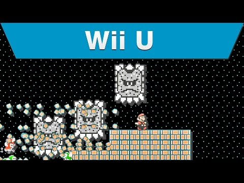 Wii U - Super Mario Maker E3 2015 Trailer
