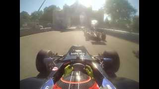 2013 Pro Mazda Race 2 at GP3R Lloyd Read