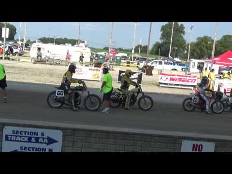 Hunting Harley's Wauseon races 2017, part 1
