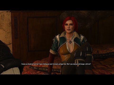 Witcher 1 Prologue Remastered: Triss Sex Scene (Witcher 3 MOD)