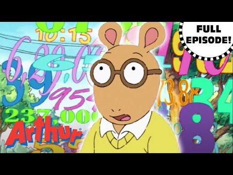 Arthur's Numbers Nightmare | Arthur Full Episode!