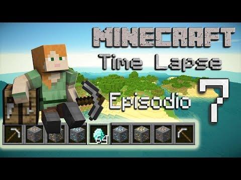 Minecraft Survival 1.12 - Time Lapse - La isla - Episodio 7: Un minero con suerte!