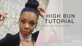 Chic High Bun For Curly Hair With Monique Rodriguez of Mielle Organics