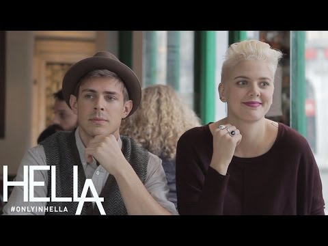 LA vs NYC: Eating Out w/ Chris Lowell, Akilah Hughes, and Betty Who - Only in HelLA Season 2