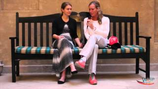 WiSP IronWomen: Dubai; Sara Gross (CAN) talks to Caroline Steffen (SUI)