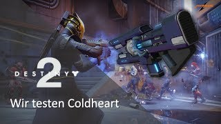 XUR - COLDHEART Trace Rifle PVP Test - Eisenbanner | Deutsch | 1080P